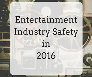 Safety in the Entertainment Industry | RMP Resources